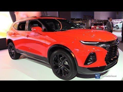 2019 Chevrolet Blazer Rs Exterior And Interior Walkaround 2019 Detroit Auto Show Chevrolet Blazer Detroit Auto Show Best New Cars