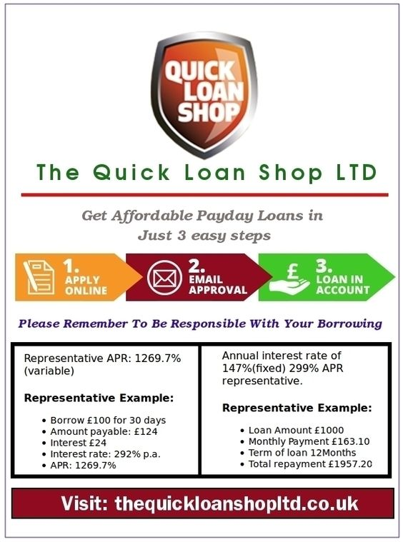 The Quick Loan Shop Ltd - Direct Payday Lender