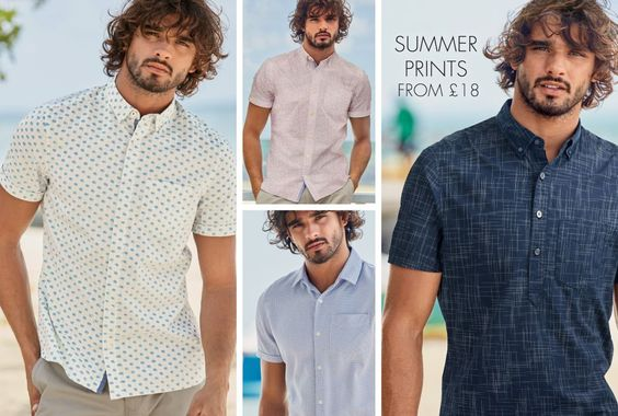 Casual Shirts | The Shirt Collection | Mens Clothing | Next Official Site - Page 6
