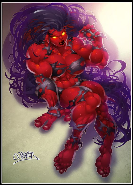 Marvel Red She-Hulk MT