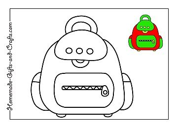 Cute back to school coloring pages!