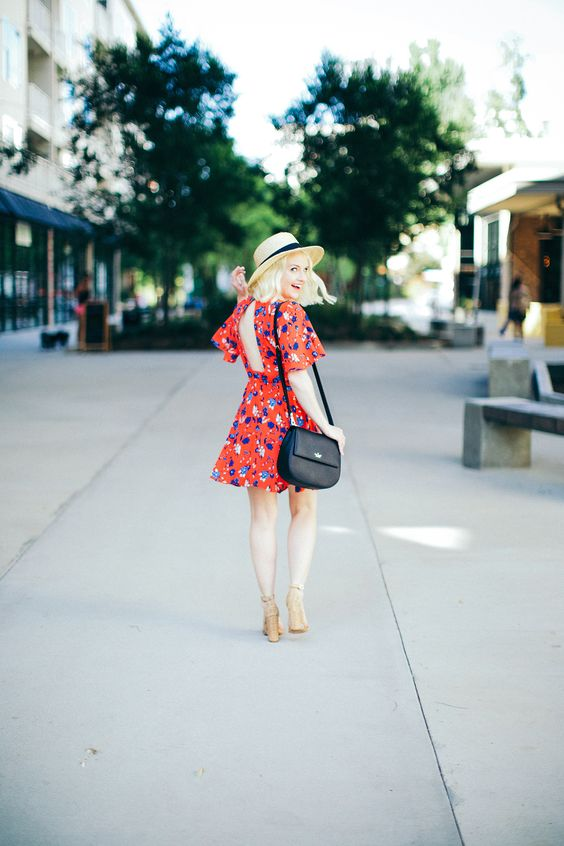a floral pattern and the kate spade new york byrdie bag on @poorlilitgirl.: