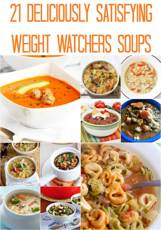 I suck at staying on track with Weight Watchers, but I really am trying. I just found some Weight Watchers Easy Soup Recipes so I'm excited to make a few big batches and refrigerate single se…