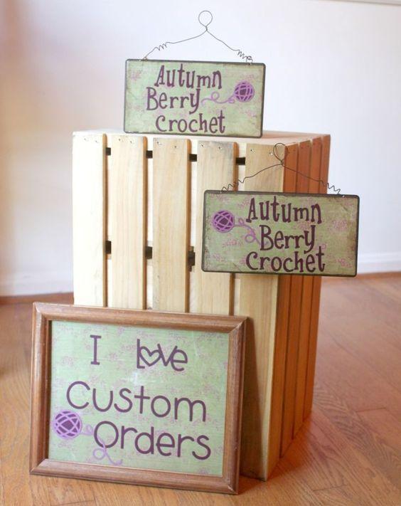 Good sign ideas for craft fair