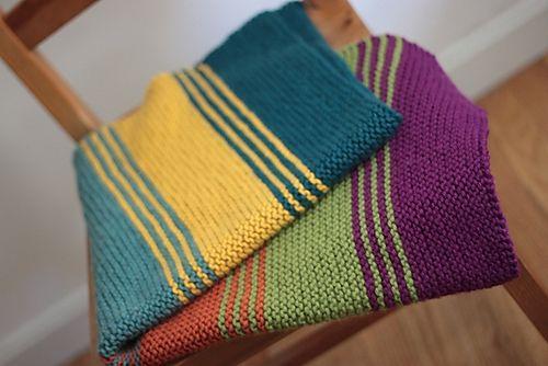 Simply Stripes Baby/Lap Blanket By Elizabeth Smith - Free ...