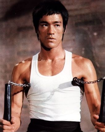 I am a huge fan of martial arts movies, and for my money, Bruce Lee is still the reigning champion. He made it look easy.