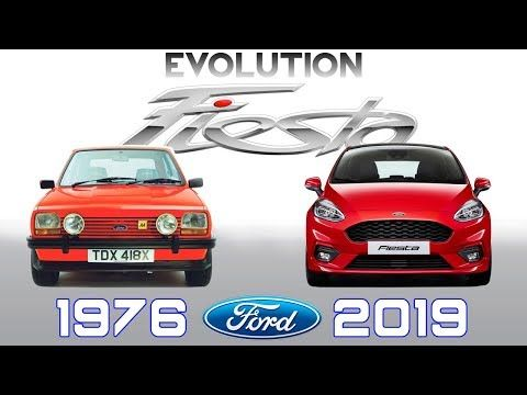 Ford Fiesta Evolution 1976 2019 Youtube With Images Ford