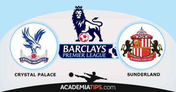 Crystal Palace vs Sunderland: Este é um jogo entre duas equipes da parte baixa da tabela, sendo que o Crystal Palace ocupa a décima sexto lugar o Sunderland...  http://academiadetips.com/equipa/crystal-palace-vs-sunderland-premier-league/