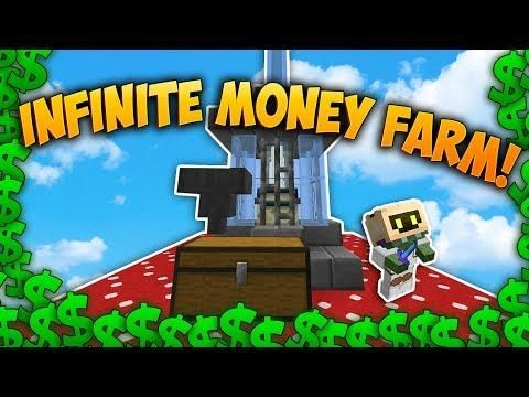 Automatic Money Farms Minecraft Skyblock Minecraft Farm