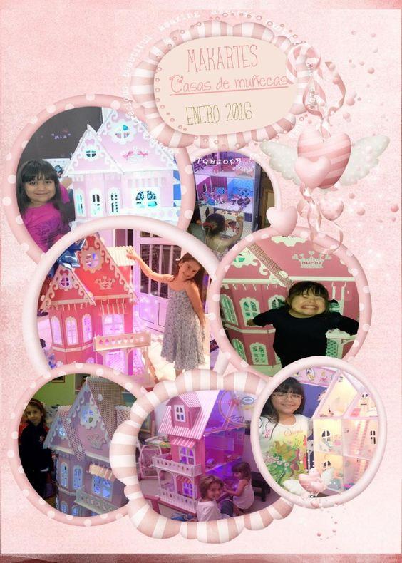 Casas de muñecas makartes enero 2016