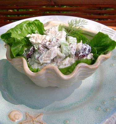 The Charm of Home: Pecan Chicken Salad