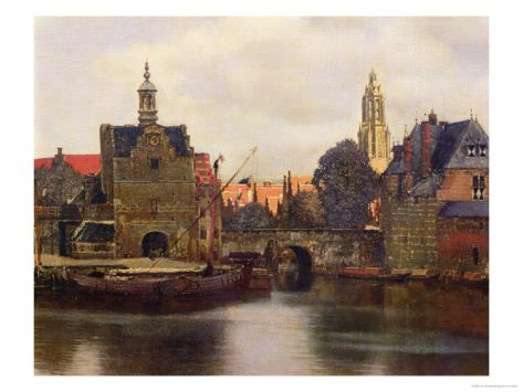 Jan Vermeer (Delft 1632–1675) View of Delft c.1660-61