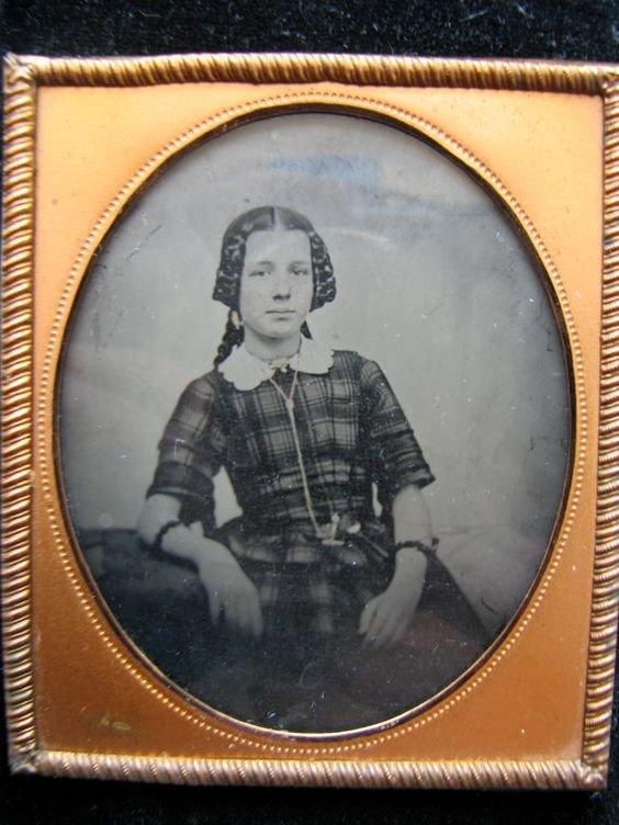 Antebellum Ambrotype of a Lovely Young Lady with by CivilFindings