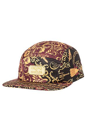 The Sultan 5 Panel Hat in Multi by Crooks and Castles