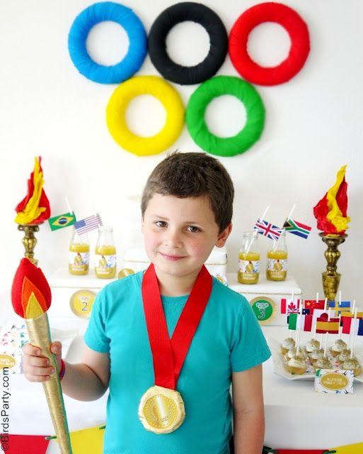 Olympics theme party!