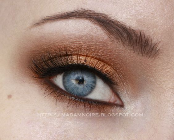 gold makeup blue eyes | we re starting with blue eyes colors that make blue