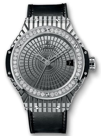 Hublot Big Bang Caviar Steel Diamonds Ref. 346.SX.0870.VR.1204