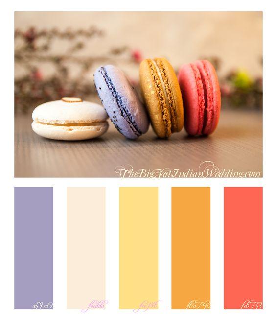 Pastel Pink Purple Wedding Color Palette Monday width=