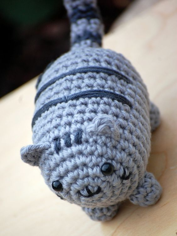Pusheen Knitting Pattern : Amigurumi Pusheen the Cat Happy Handmade Pinterest ...