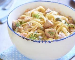 Tagliatelle à l'aneth et saumon spécial Cookeo : http://www.fourchette-et-bikini.fr/recettes/recettes-minceur/tagliatelle-laneth-et-saumon-special-cookeo.html