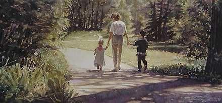 A Path to Follow - Steve Hanks - World-Wide-Art.com