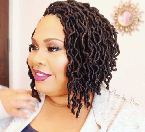 22 Hottest Faux Locs Styles In 2020 Anyone Can Do Faux Locs Hairstyles Curly Faux Locs Locs Hairstyles