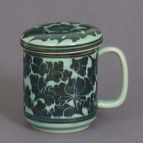 Dark Lotus Teacup