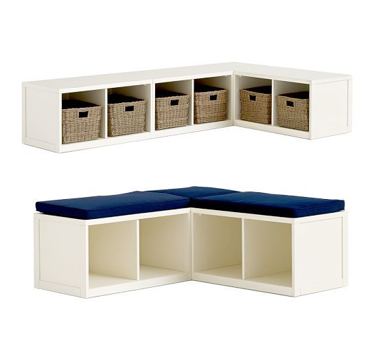 Build Your Own Ryland Modular Banquette Pottery Barn Way Better Option For Dalia 39 S Playroom