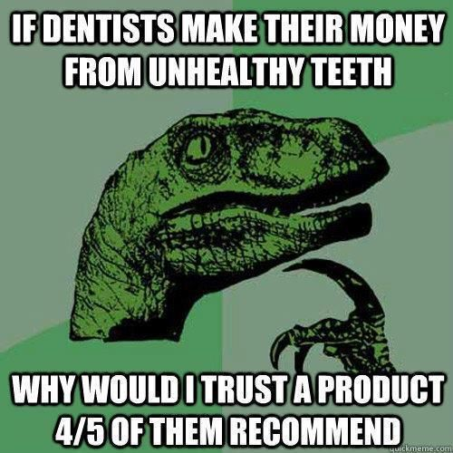 this is fantastic. dentists