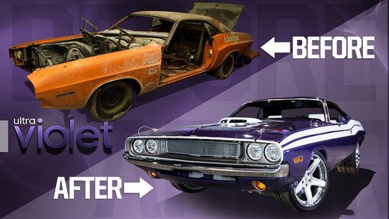 1970 Dodge Challenger Full Rebuild In Minutes In 2020 Dodge Challenger Challenger American Classic Cars
