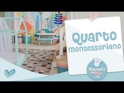 APRENDA A MONTAR UM QUARTO MONTESSORIANO - MACETES DE MÃE - YouTube