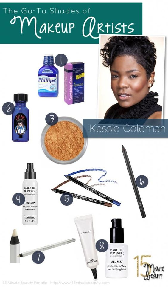 The Favorite Products of Beauty Experts: Kassie Coleman  via @15 Minute Beauty