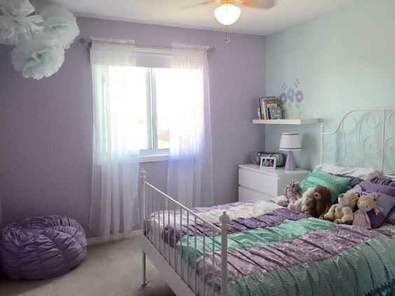 Dulux Kids Bedroom In A Box: My Little Girls Room, Dulux Paint Colours Are Purple