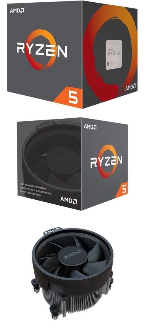Socket AM4 95W YD260XBCAFBO 4.2 GHz Max Boost AMD RYZEN 5 2600X 6-Core 3.6 GHz