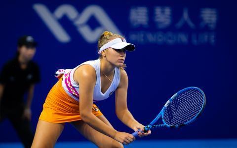 Kenin Vence A Riske En Choque Estadounidense En Zhuhai Siento Que Jugue Muy Bien Zhuhai China La Estadounidense Sofia Kenin I Sporting Live Live Tv Tennis