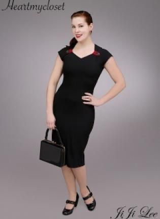 Eva Dress,  Dress, vintage rockabilly pinup 50s mod dress, Chic