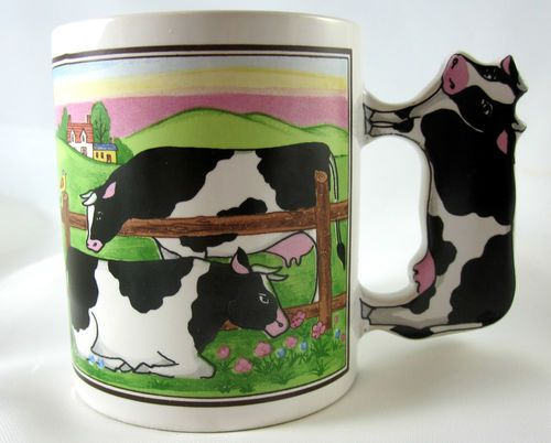 Cow Mug Cup with Cow Handle | eBay