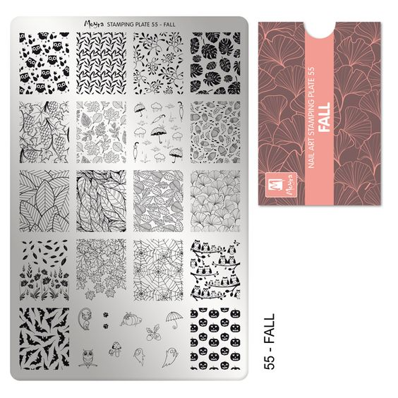 COMING SOON Moyra Stamping Plate 55- Fall