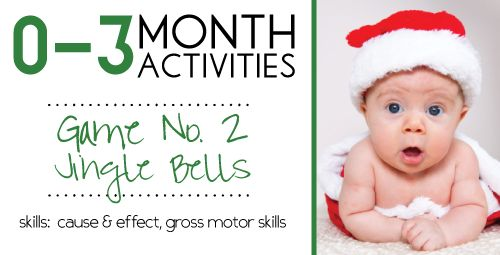 Baby Activities for 0-3 Month Olds #2 http://www.incredibleinfant.com
