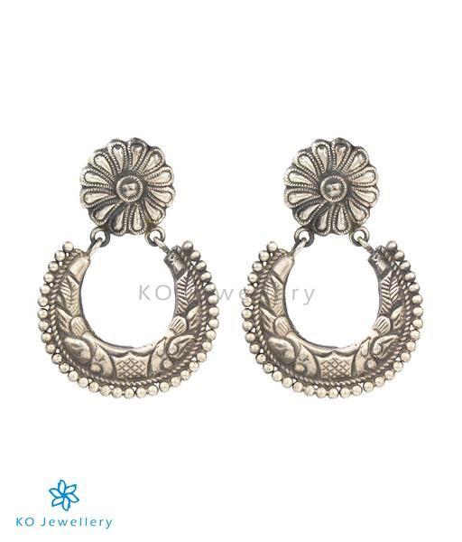 The Vachya Silver Earrings