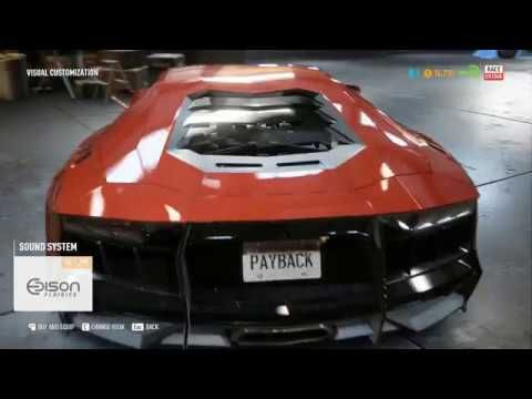 Need For Speed Payback Buying 218 Top Speed Race Car Race Cars Need For Speed Car