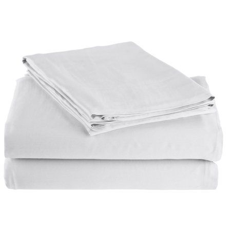 Superior 300 Thread Count Rayon From Bamboo Solid Sheet Set White