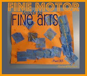 Fine Motor and Fine Arts