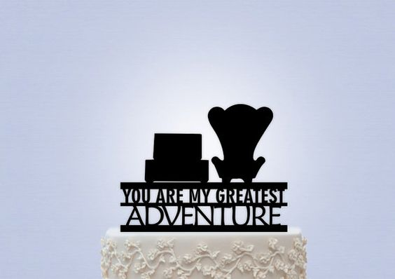27 Magical Disney Wedding Cake Toppers. The one from UP will be on my cake!