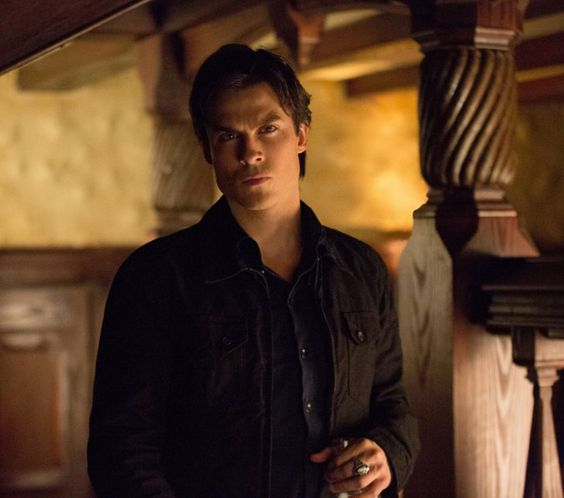 Pin for Later: Ian Somerhalder's Sexiest Smolders From The Vampire Diaries I Dare You to Look Away Smolder