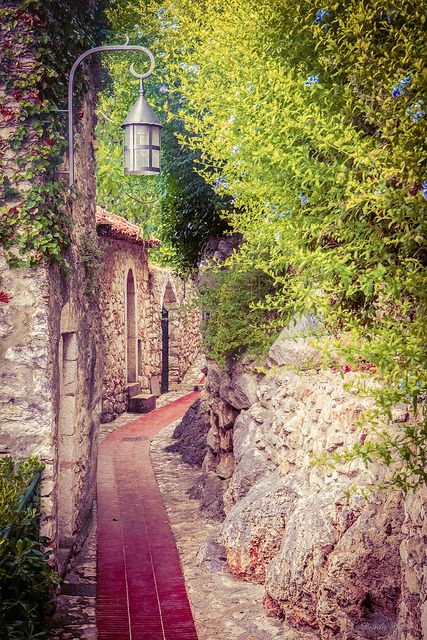 Eze, France - photo by Deirdre Hayes