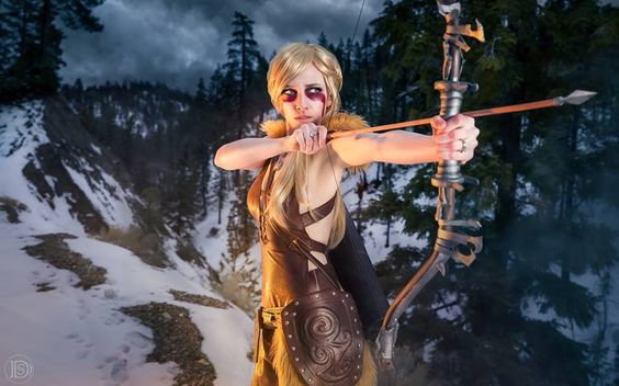 Skyrim cosplay by Lyz Brickley