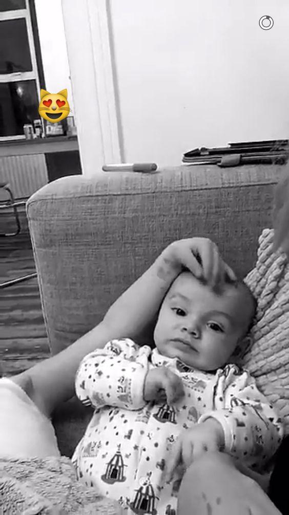 On Lou's Snapchat