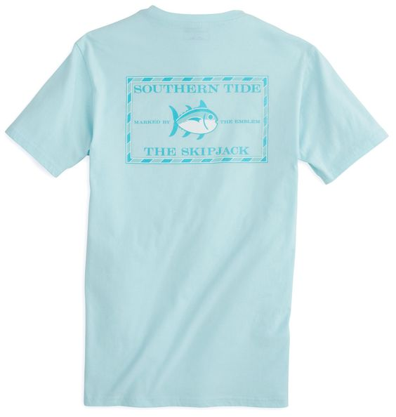 Southern Tide has finally updated the popular Skipjack T-shirt with new colors for the Southern Tide girl. With the same soft and relaxed fit, you'll love the casual comfort of this classic tee. Color