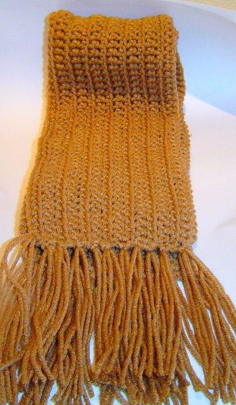 Golden Wheat Scarf